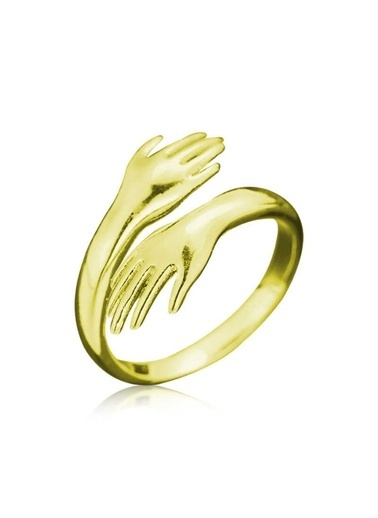 Harem Altın Harem 925 Ayar   Lan Eller Yüzük Sarı
